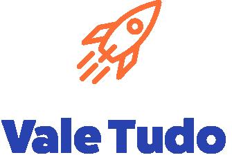 Logo Vale Tudo avec une fusée.